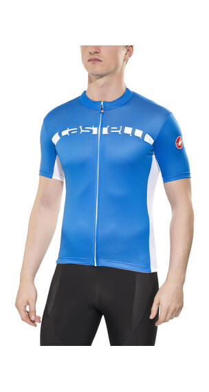 Castelli Prologo 4 Jersey FZ Men drive blue/white